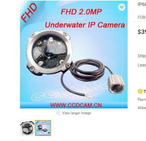 找产品:水下特种摄像机(如图)